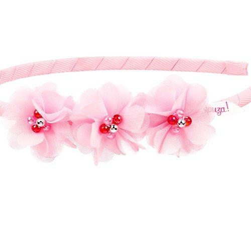 Haarreif Tricia mit Blüten rose von Souza!