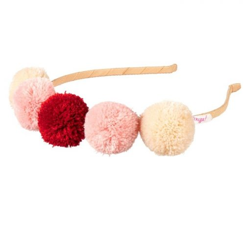 Haarreif Pompom rosa von Souza! für Kinder ab 3 Jahre