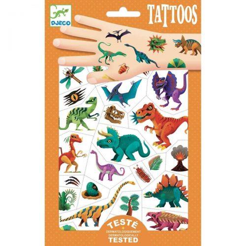 Djeco Tattoos Dinosaurier