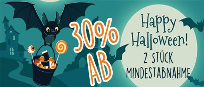 Halloween-Rabatt-Slider